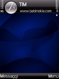 Blue Spyro Theme for Nokia N70/N90