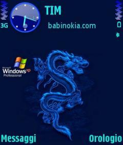 Blue XP Theme for Nokia N70/N90