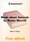 Book about Animals for MobiPocket Reader