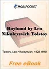 Boyhood for MobiPocket Reader