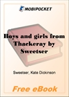 Boys and girls from Thackeray for MobiPocket Reader