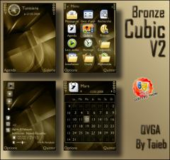 Bronze Cubic Theme