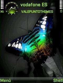 Butterfly QVGA Theme