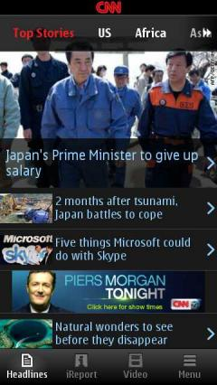 CNN International (Symbian)