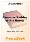Caesar or Nothing for MobiPocket Reader