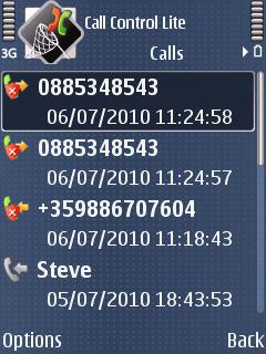 Call Control (Symbian)