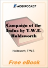 Campaign of the Indus for MobiPocket Reader