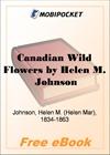 Canadian Wild Flowers for MobiPocket Reader