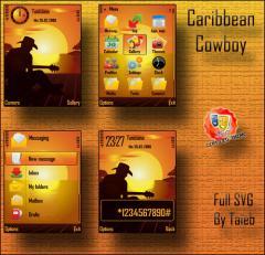 Caribbean Cowboy SVG Theme
