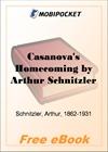 Casanova's Homecoming for MobiPocket Reader