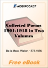 Collected Poems 1901-1918 - Volume II for MobiPocket Reader