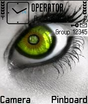 Colored Eyes Theme