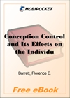 Conception Control and Its Effects on the Individual and the Nation for MobiPocket Reader