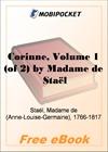 Corinne, Volume 1 for MobiPocket Reader
