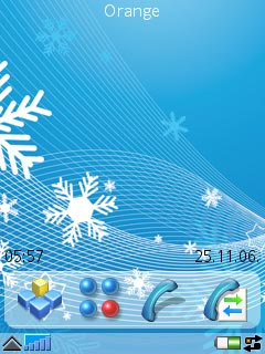 Crystal Winter Theme UIQ