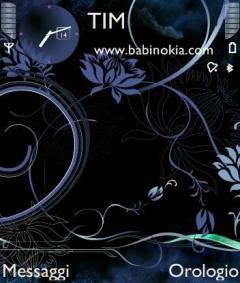 Dark Glamur Theme for Nokia N70/N90