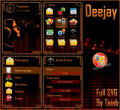 Deejay SVG Theme