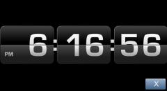 Desk Flicker Clock