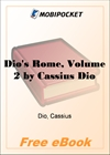 Dio's Rome, Volume 2 for MobiPocket Reader