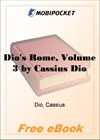 Dio's Rome, Volume 3 for MobiPocket Reader