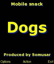 Dogs - Free mobile snack for Series 60 3rd Edition