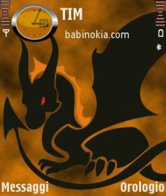 Dragon Orange Theme for Nokia N70/N90