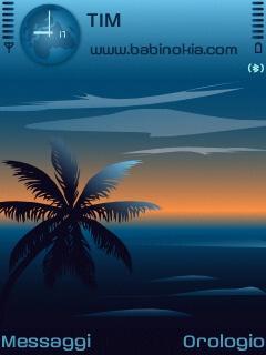 Dreaming Blue Theme for Nokia N70/N90