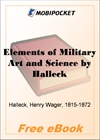 Elements of Military Art and Science for MobiPocket Reader