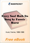 Every Soul Hath Its Song for MobiPocket Reader