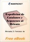 Expedicion de Catalanes y Argoneses al Oriente for MobiPocket Reader