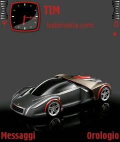 Ferrari Gray Theme for Nokia N70/N90