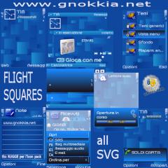 Flight Squares Theme