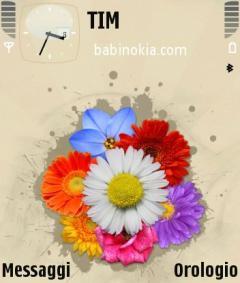 Flower Chaos Theme for Nokia N70/N90