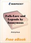 Folk-Lore and Legends Scotland for MobiPocket Reader