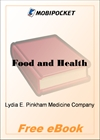 Food and Health for MobiPocket Reader