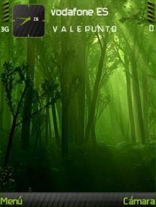 Forest Green QVGA Theme