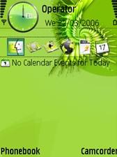 Fractal Green Theme
