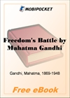 Freedom's Battle Being a Comprehensive Collection of Writings and Speeches on the Present Situation for MobiPocket Reader