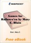 Games for Hallow-e'en for MobiPocket Reader