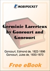Germinie Lacerteux for MobiPocket Reader