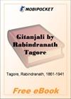 Gitanjali for MobiPocket Reader