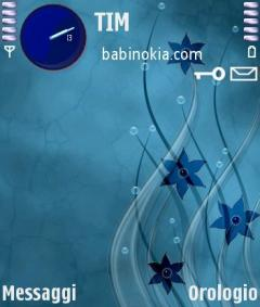 Glass Flowers Theme for Nokia N70/N90