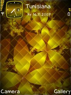 Gold Petals Theme