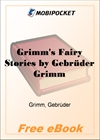 Grimm's Fairy Stories for MobiPocket Reader