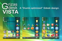 Grizas Vista Theme for GDesk (UIQ)