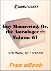 Guy Mannering, Or, the Astrologer - Volume 01 for MobiPocket Reader