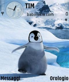 Happy Feet Theme for Nokia N70/N90