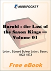 Harold: the Last of the Saxon Kings - Volume 01 for MobiPocket Reader