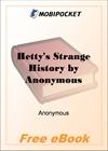 Hetty's Strange History for MobiPocket Reader
