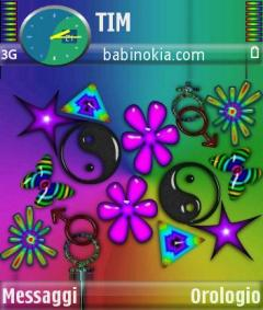 Hippy Love Theme for Nokia N70/N90